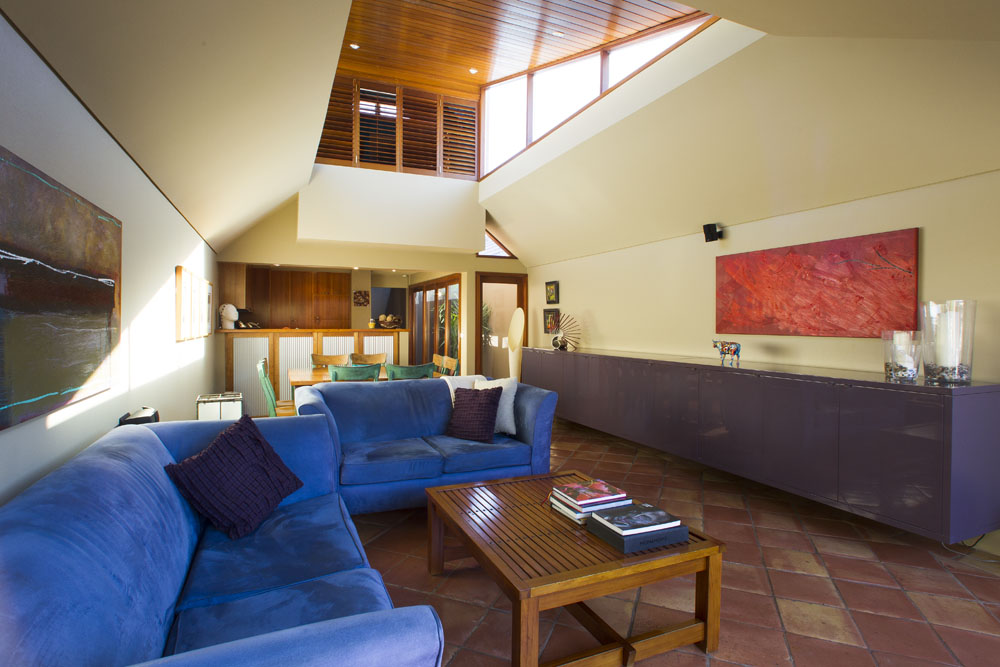 Clerestory Windows - Living Room